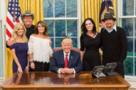 Here's What Ted Nugent, Kid Rock, and Donald Trump Talked About at the White House