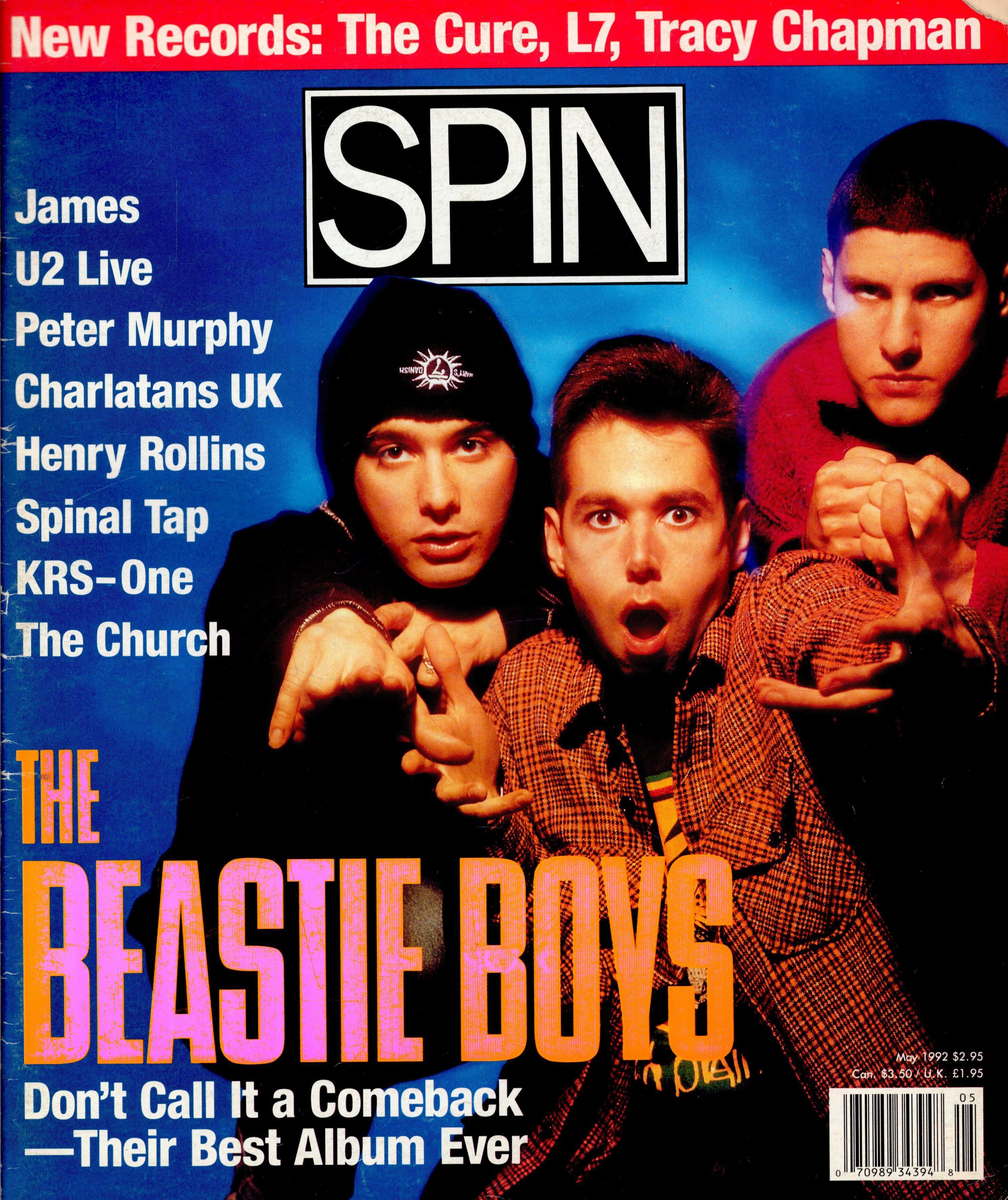 Living X-Tra: <i>Spin</i>'s 1992 Beastie Boys Cover Story