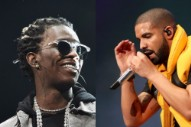 Young Thug Says His New Album, Executive Produced by Drake, Will Be Out This Week
