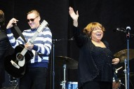 "Mavis Staples and Arcade Fire Cover Talking Heads' ""Slippery People"""