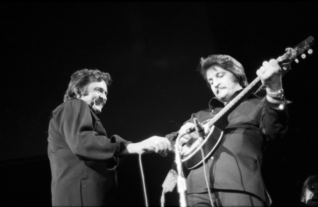 Johnny Cash In Anaheim