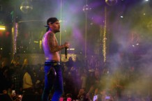 Drai's LIVE Kicks Off 2016 With Performance By Resident Artist Chris Brown At Drai's Nightclub In Las Vegas