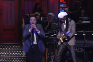 Watch Jimmy Fallon Sing David Bowie's &#8220;Let's Dance&#8221; With Nile Rodgers on <i>SNL</i>