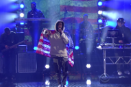 Watch Joey Bada$$ Perform &#8220;Land of the Free&#8221; on <i>Colbert</i>