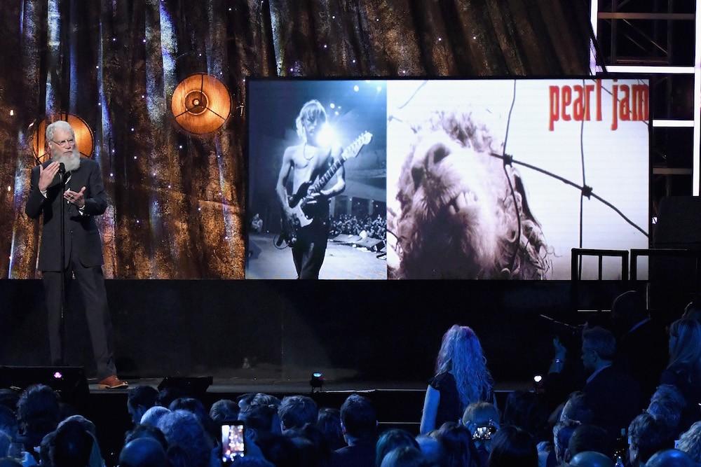 Pearl Jam David Letterman