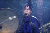 Watch PJ Harvey Perform &#8220;The Community of Hope&#8221; on <i>Colbert</i>