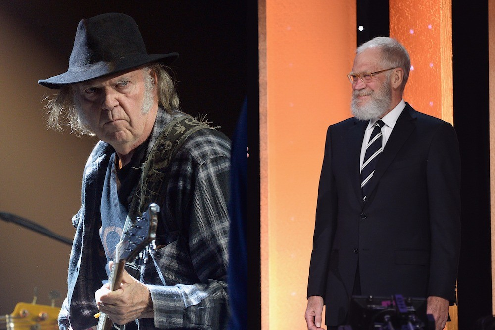 Neil Young David Letterman
