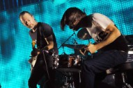Watch Radiohead's Johnny Greenwood Prank Thom Yorke During a Concert