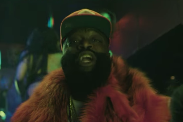 "1ce1e1587f7 rick ross gucci mane. Rick Ross has dropped the video for the Gucci Mane- featuring ""She on My Dick ..."