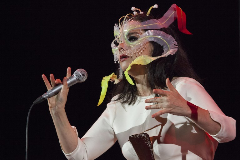 Bjork In Concert - Mexico City