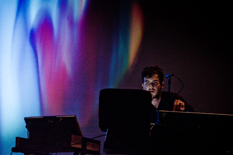 Nicolas Jaar Performs During Transcender Festival At Barbican, London