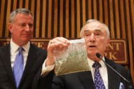 Hmmm: NYC Mayor Bill de Blasio, a Rumored Weed Smoker, Also Loves Reggae