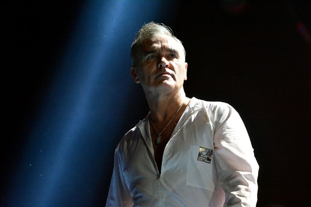 Morrissey Performs At The 02 Arena