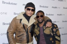 Kevin Hart & Muzik One Headphones Kick Off Holiday Season With Shoppers At Brookstone