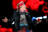 "Axl Rose Sings ""Highway To Hell"" With Billy Joel at Dodger Stadium"