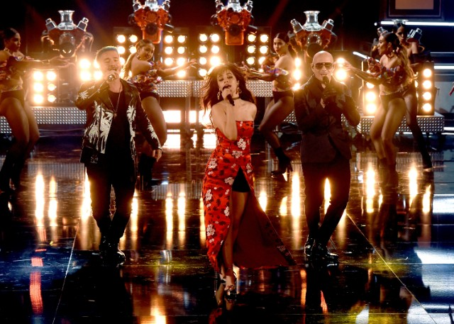 Pitbull, J Balvin, Camila Cabello Perform