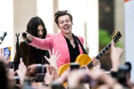 Watch Harry Styles Perform &#8220;Carolina,&#8221; Deliver James Corden&#8217;s Monologue on <i>Late Late Show</i>