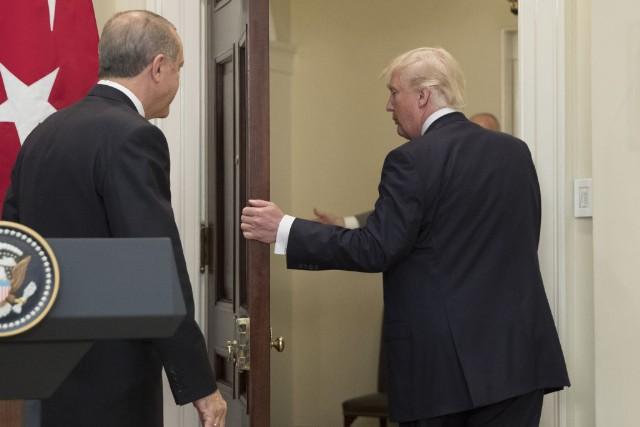 President Trump Hosts Turkish President Recap Tayyip Erdogan At White House