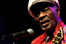 US Rock and Roll legend Chuck Berry, 81,