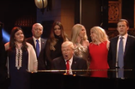 Watch Alec Baldwin Sing &#8220;Hallelujah&#8221; as Donald Trump on <em>SNL</em> Season Finale