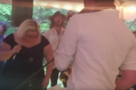 "Watch Sheer Mag Cover ""Man! I Feel Like a Woman"" at a Friend's Wedding"