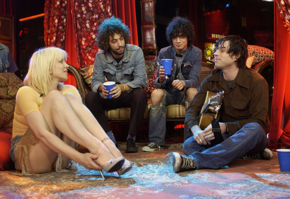 Courtney Love on MTV2