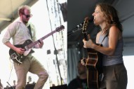 "Bon Iver's Justin Vernon Sings Backup on New Ani DiFranco Track ""Zizzing"""