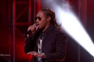 Watch Future Perform &#8220;Mask Off&#8221; and &#8220;Used to This&#8221; on <i>Kimmel</i>