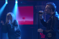 "Watch the Jesus and Mary Chain and Sky Ferreira Play ""The Two of Us"" on <em>Colbert</em>"