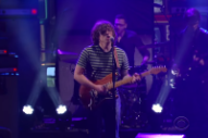 Watch Ryan Adams Perform &#8220;Outbound Train&#8221; on <i>Colbert</i>