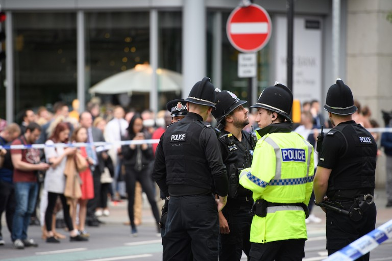 Aftermath In Manchester After Pop Concert Terrorist Attack Kills 22