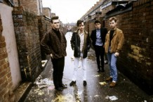 Photo of Andy ROURKE and Johnny MARR and MORRISSEY and The Smiths and Mike JOYCE