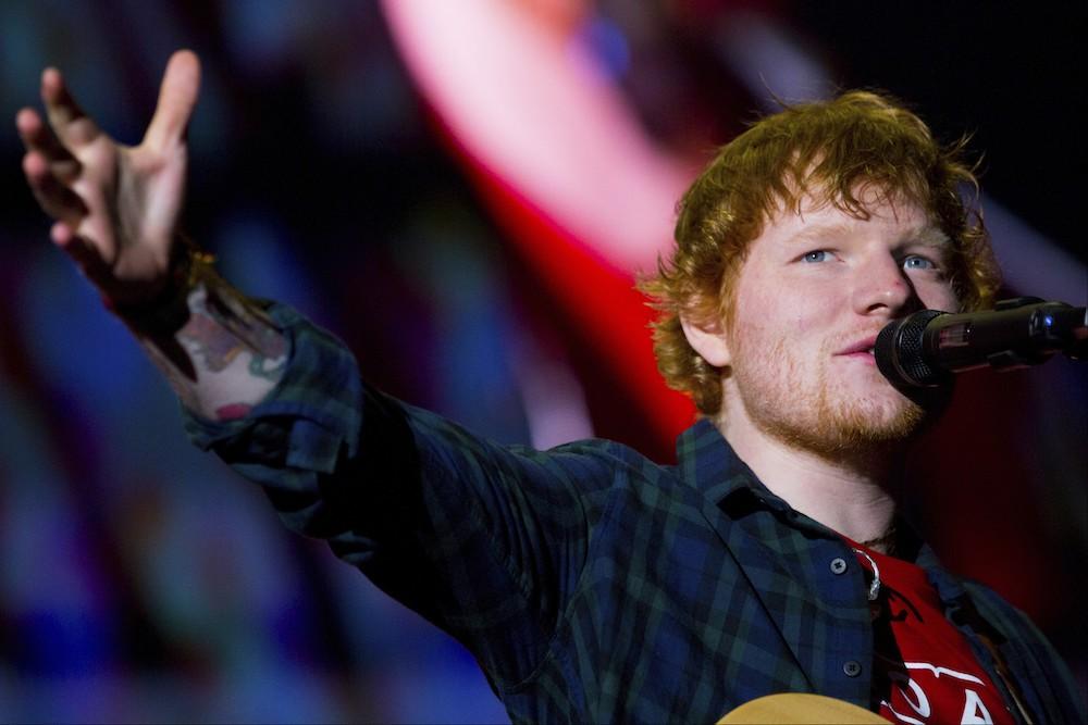 Ed Sheeran Concert In Argentina