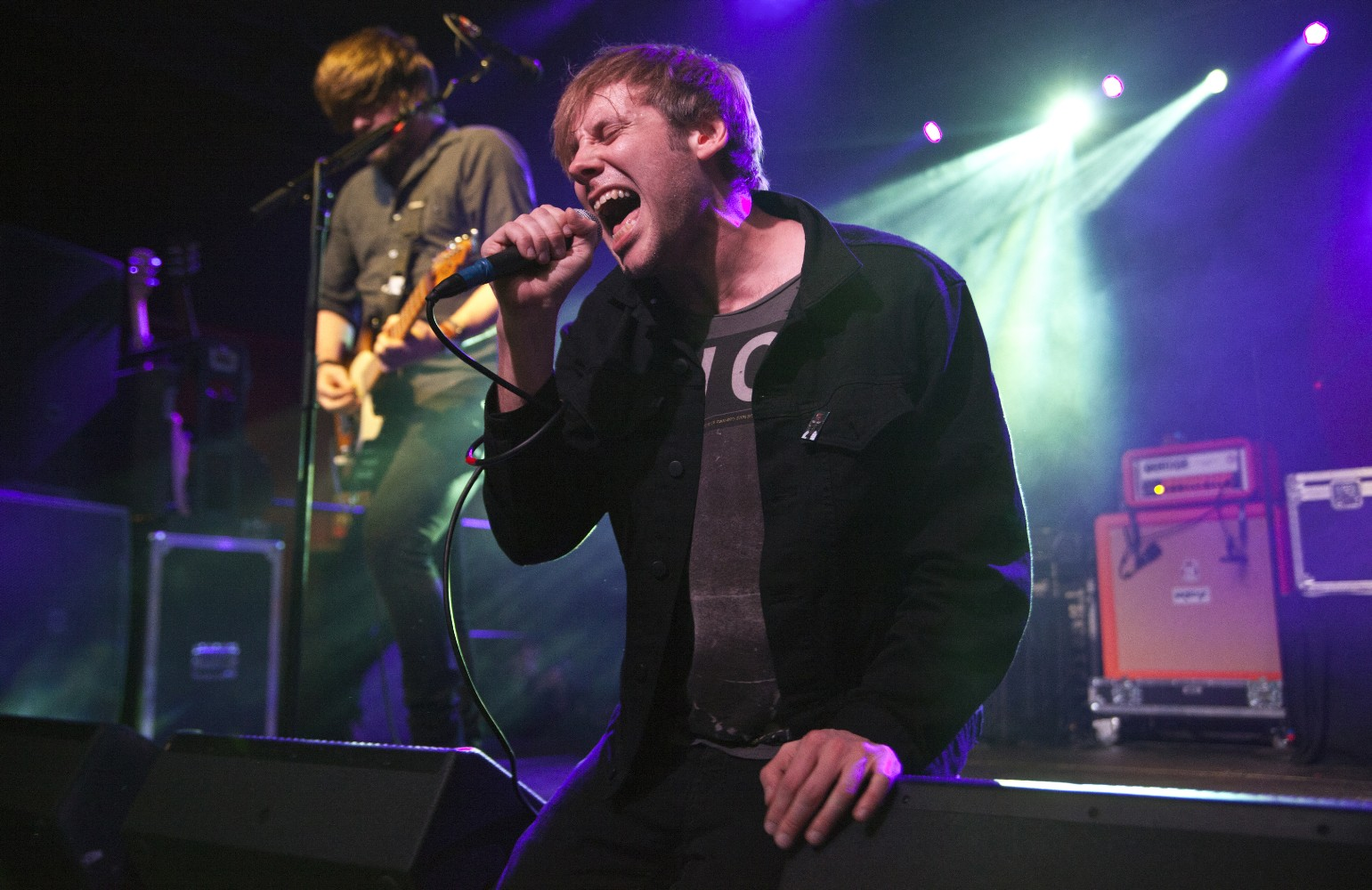 Thursday's Geoff Rickly Talks Reunion, Getting Sober, Martin Shkreli, and More