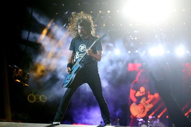 Foo Fighters Perform Live In Brisbane