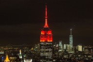 "A Light Show on the Empire State Building Synced Up to the Dead's Performance of ""Touch of Grey"""