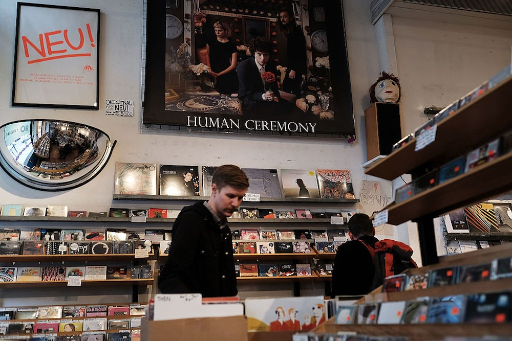 Dwindling New York Record Stores Match National Trends
