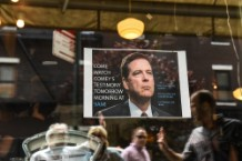 Across U.S, Interest High In Former FBI Director Comey's Testimony On Russia And Trump