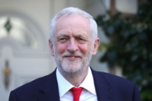 Labour Leader Jeremy Corbyn Heads To Labour Party HQ