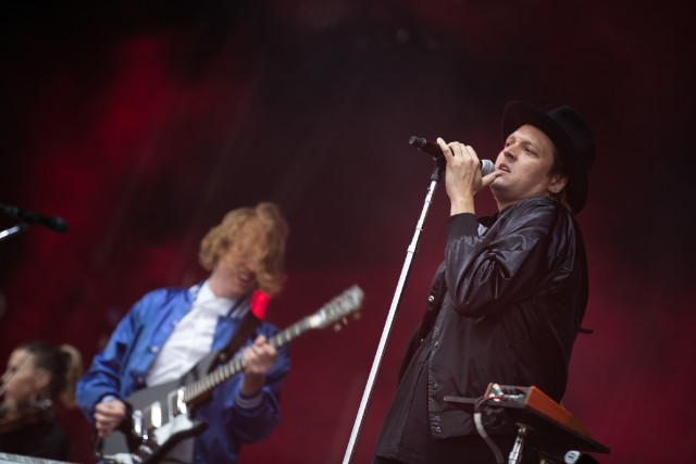 Arcade Fire Perform At Malahide Castle, Dublin
