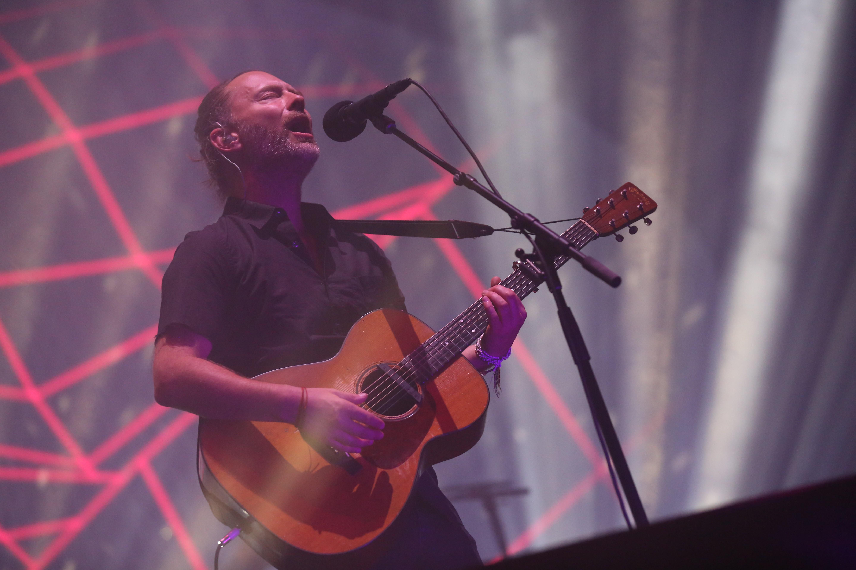 Radiohead Perform At 3Arena, Dublin