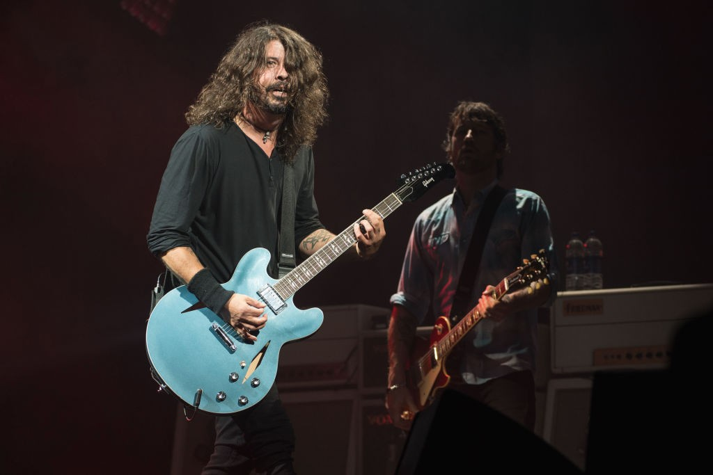 Watch The Foo Fighters Perform Right Now At Open Er
