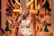 """NBA Awards 2017: Watch Nicki Minaj and 2 Chainz Perform a Medley of """"Realize,"""" """"No Frauds"""" and """"Swish Swish"""""""