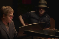 "Watch Elton John and Jack White Duet on a New Blues Song Called ""Two Fingers of Whiskey"""