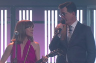 Watch Feist Perform &#8220;Century&#8221; on <i>The Late Show</i> With Help From Stephen Colbert