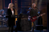 Watch Lindsey Buckingham and Christine McVie Perform &#8220;In My World&#8221; on <i>Fallon</i>