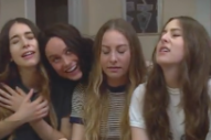 Watch Brie Larson Play the Deranged Fourth Haim Sister in a New Funny or Die Video