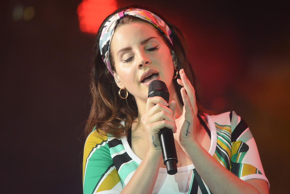 Watch Lana Del Rey Preview a New Song With A$AP Rocky and Playboi Carti