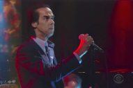 "Watch Nick Cave and the Bad Seeds Perform ""Rings of Saturn"" on <em>Colbert</em>"