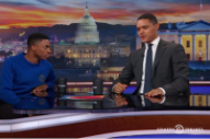 Watch Vince Staples Talk About <i>Big Fish Theory</i> and Actual Fish on <i>The Daily Show</i>
